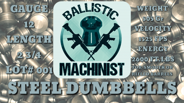 ballistic machinist