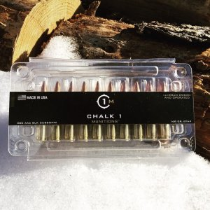 Chalk 1 300 AAC Blackout Subsonic 168 gr BTHP