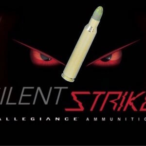 SilentStrike 556 95gr lead core non frangible