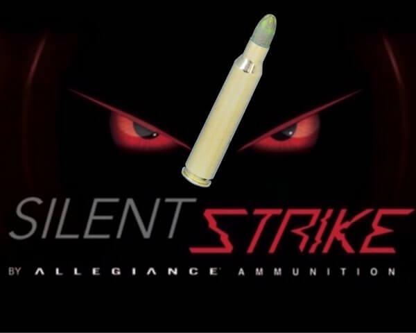 SilentStrike 556 95gr lead core non frangible