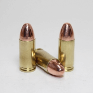 9mm 124gr FMJ Remanufactured Brass