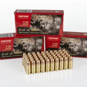 Norma 9mm Luger 115gr RN
