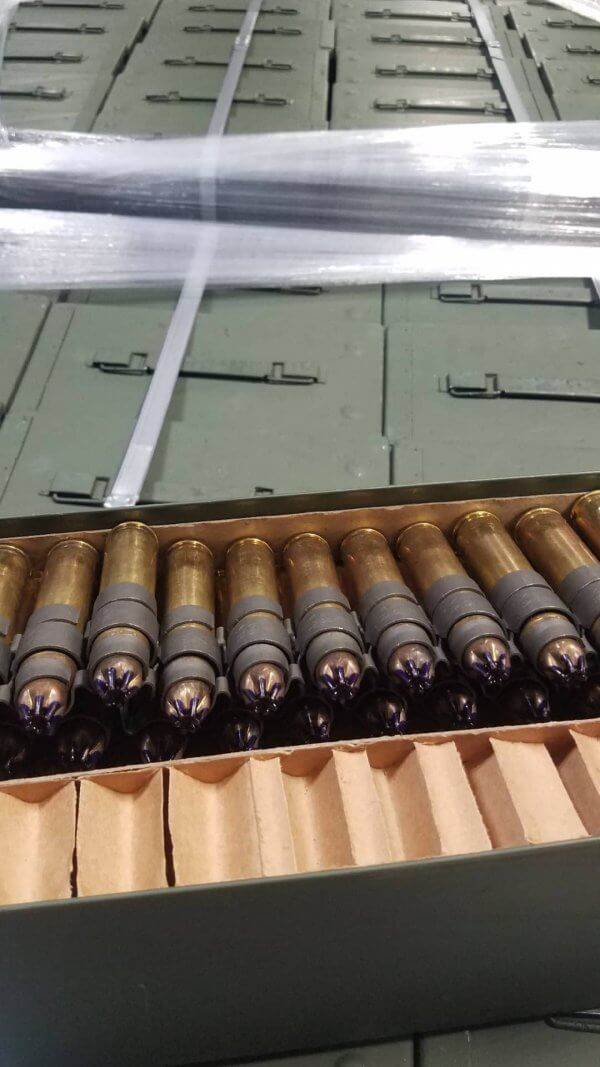 LINKED 50 BMG BLANKS 100 ROUND CAN