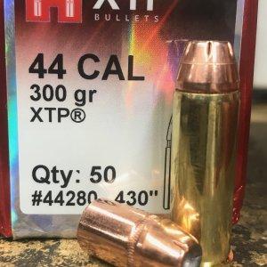 Subsonic .44 Magnum 300gr XTP