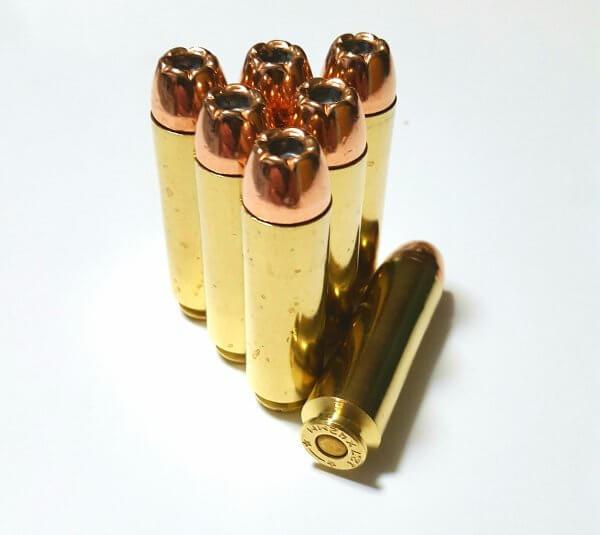 12.7 X 42mm 350gr. Hornady XTP Mag