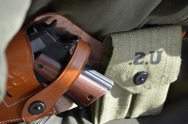 Proper conceal carrying