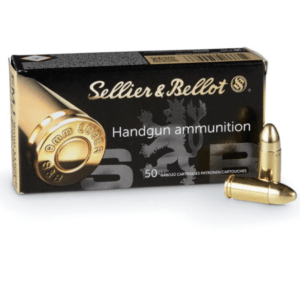 Sellier & Bellot Ammunition 9mm Luger 124 Grain Full Metal Jacket