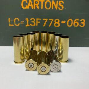 45 Colt brass casings