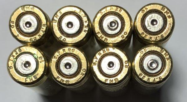 5.7x28 brass casings
