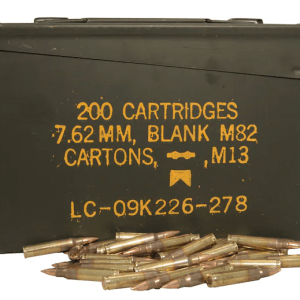 223 Remington 55 Grain FMJ With Ammo Can (500 Rounds)