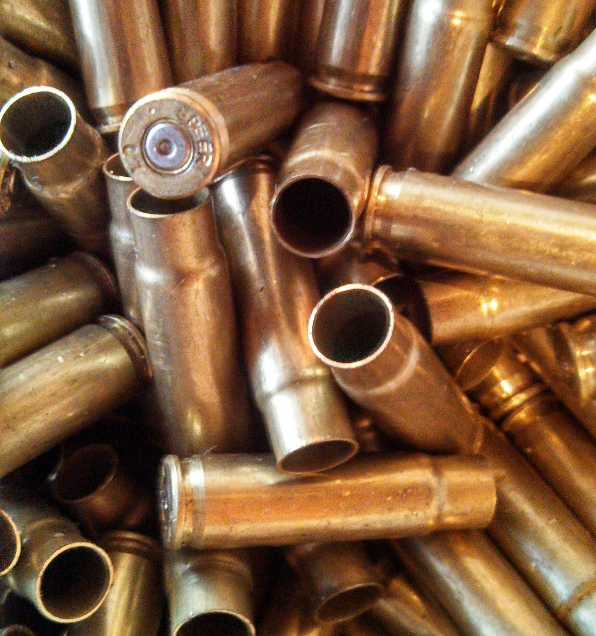 UNPROCESSED 300 BLACKOUT BRASS (100 PIECES)