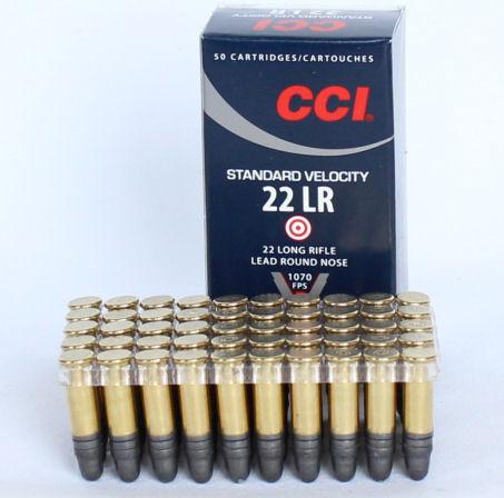 CCI .22 LR Standard Velocity 40gr (50 Rounds)