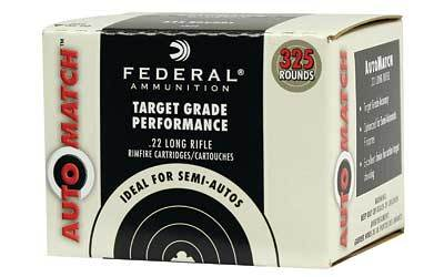 22LR Federal 40gr Auto Match 325 Round Box
