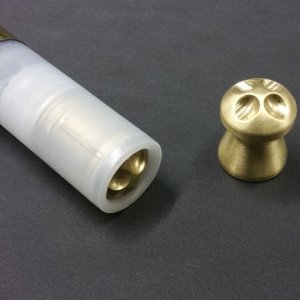 389gr Ballistic Machinist Brass Slug