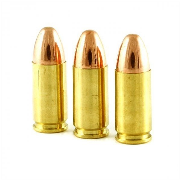 Subsonic 9mm round